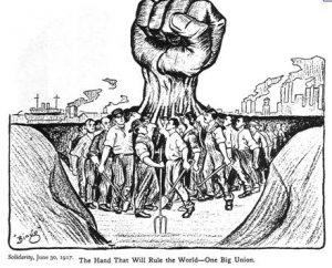 fist+one+big+union